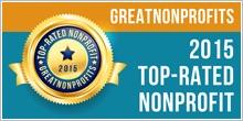 2015 top non profit badge