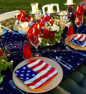 4th of july table 4