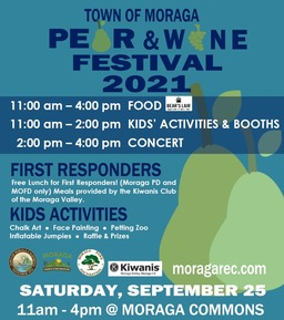 Pear Festival flyer