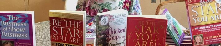 Cynthia Brian books banner