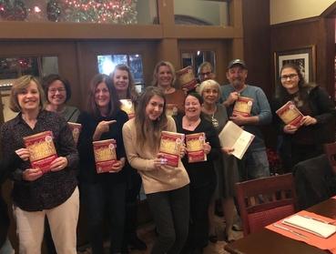 Katelyn Darrow Angels Community with book