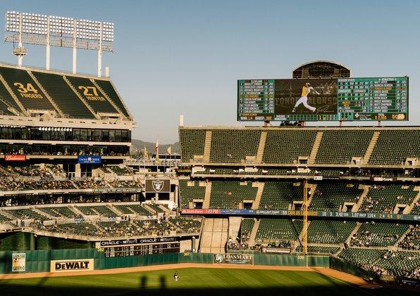 A's stadium