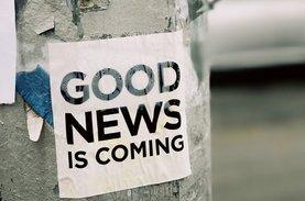good news coming