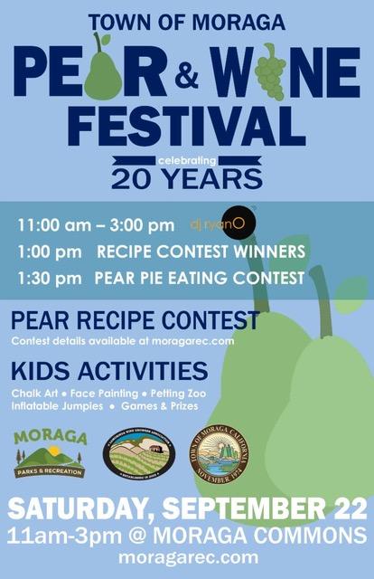 pear -wine festival flyer