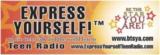 Express Yourself orange 72x24 banner-1