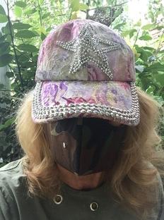 Cynthia Brian-Mask-Hat