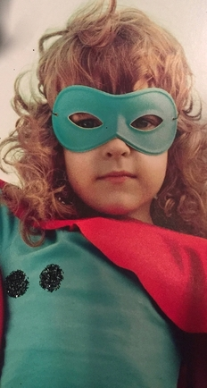 masked little girl 2
