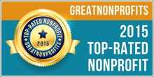 2015 top non profit badge