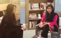 Malala Yousafzai and Henna Hundal